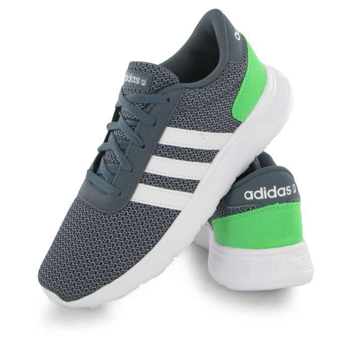 basket adidas néo blanche et verte