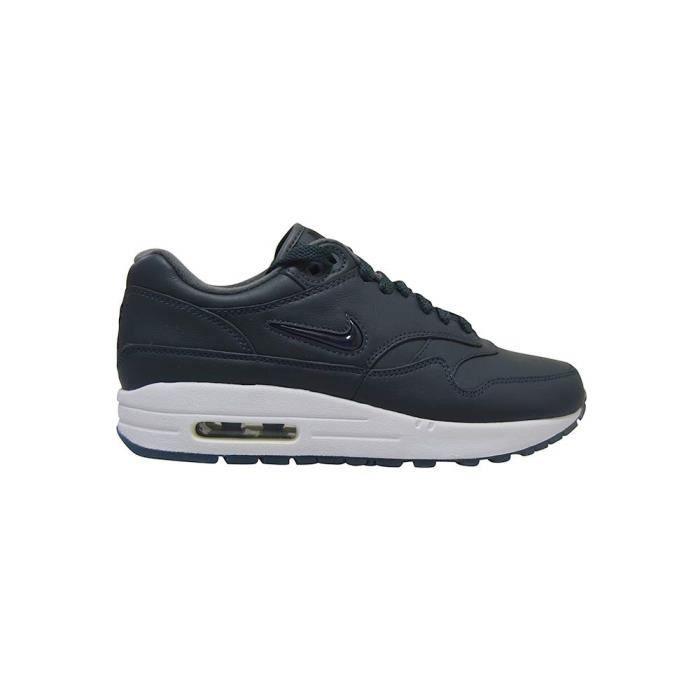 Nike air max 1 bijou de luxe pour femmes qs * rare * noir blanc ...