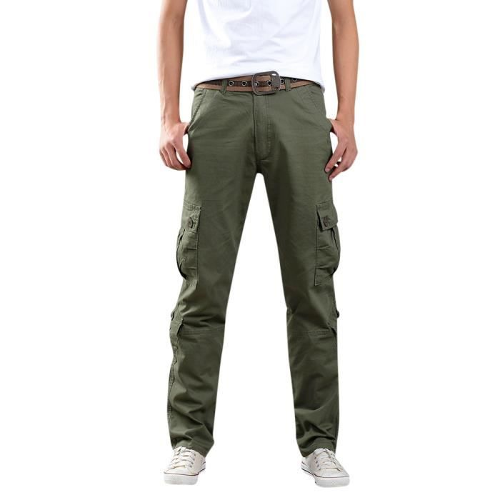 "court 54/"" Reg Workwear Pantalons. Homme Cargo Combat Armée pantalons de travail Pantalons Tailles 28/"""