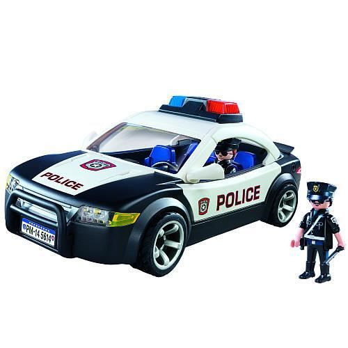 voiture police playmobil 5614 achat vente figurine. Black Bedroom Furniture Sets. Home Design Ideas