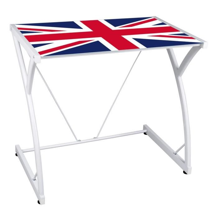 bureau english motif londres achat vente bureau bureau english motif londres cdiscount. Black Bedroom Furniture Sets. Home Design Ideas
