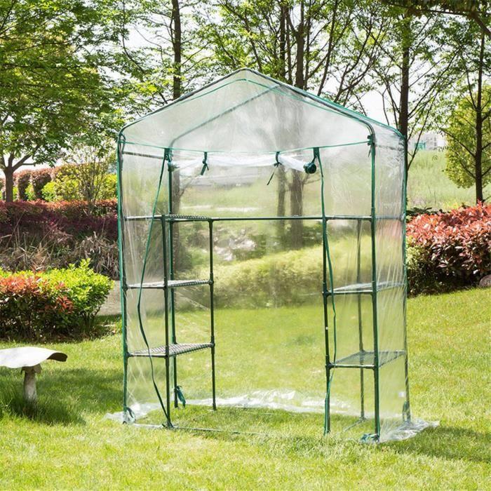 PE Apex Toit Housse Film à Serre de Jardin Maison Verte Plante Durable  Couverture Étui Protection Anti Insect Rongeur