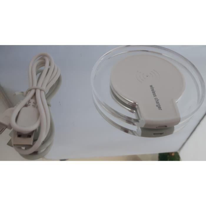 CHARGEUR TÉLÉPHONE Chargeur à induction QI WPC Sans Fil Samsung ,HTC,