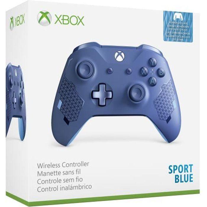 MANETTE JEUX VIDÉO Manette Xbox Sans Fil Edition Spéciale Sport Blue