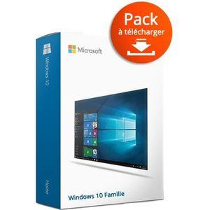 CLAVIER POUR TABLETTE Windows 10 Famille à télécharger