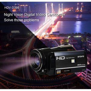 APPAREIL PHOTO RÉFLEX Caméscope Full HD 1080p avec objectif grand angle,