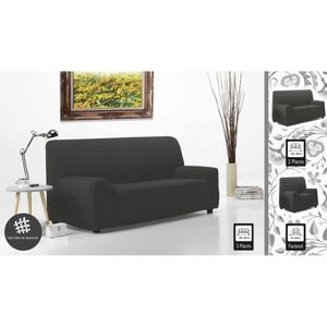 housse extensible canape 3 places achat vente pas cher. Black Bedroom Furniture Sets. Home Design Ideas