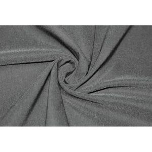 TISSU Tissu Bengaline Noire -Au Mètre