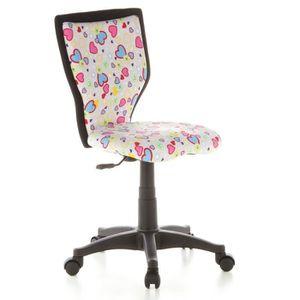 CHAISE DE BUREAU hjh OFFICE 670070 chaise de bureau enfant, chaise