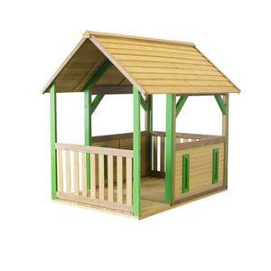 MAISONNETTE EXTÉRIEURE AXI maison enfant exterieur en bois Forest