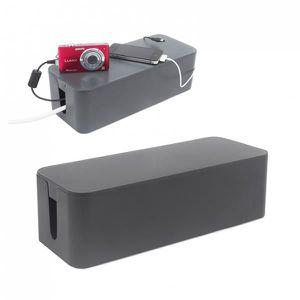 CACHE PRISES - CÂBLES Range câbles Tidy gris