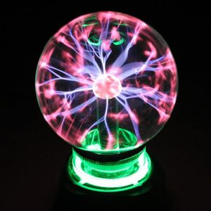 LAMPE A POSER BRO® LAMPE BOULE PLASMA MAGIQUE ECLAIRS 4''
