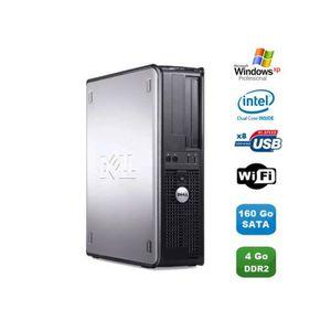 UNITÉ CENTRALE  PC DELL Optiplex 360 DT Intel Dual Core E5200 2.5G
