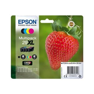 CARTOUCHE IMPRIMANTE EPSON Multipack T2996 - Fraise - Noir, Cyan, Magen