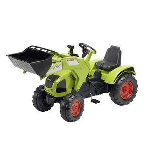 TRACTEUR - CHANTIER FALK Tracteur à pédales CLAAS Axos 330 avec roues