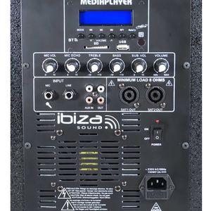 PACK SONO Système sono triphonique 800W - 2 enceintes 2x4