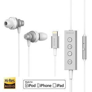 CASQUE - ÉCOUTEURS dodocool MFi Certified Hi-Res In-ear écouteurs sté