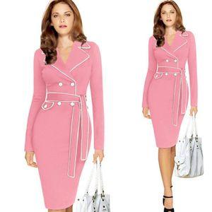 Robe tailleur femme