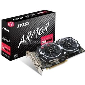 CARTE GRAPHIQUE INTERNE MSI Carte graphique Radeon RX 580 ARMOR 8G OC - 8
