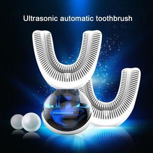 BROSSE A DENTS ÉLEC Brosse à dents électrique en forme de U USB pour b