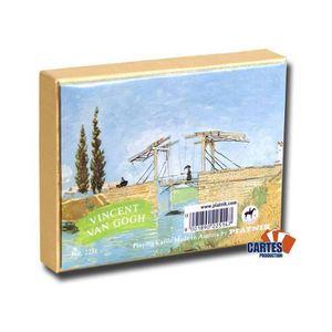 CARTES DE JEU Van Gogh - 2 jeux de 52 cartes
