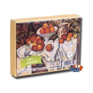 CARTES DE JEU Cezanne Still Life - 2 jeux de 52 cartes