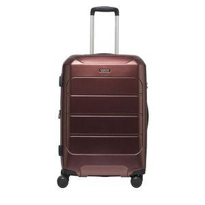 SET DE VALISES Lot de 2 valises rigides Eko 74 et 53 cm Burgundy
