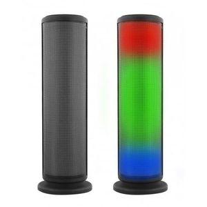 ENCEINTE NOMADE Enceinte Bluetooth lumineuse Stéréo 2 x 3 Watts LE