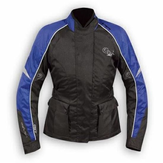 A-pro Blouson Moto Motard Renfort Dorsal Impermeable Respirant Protections bleu 3XL
