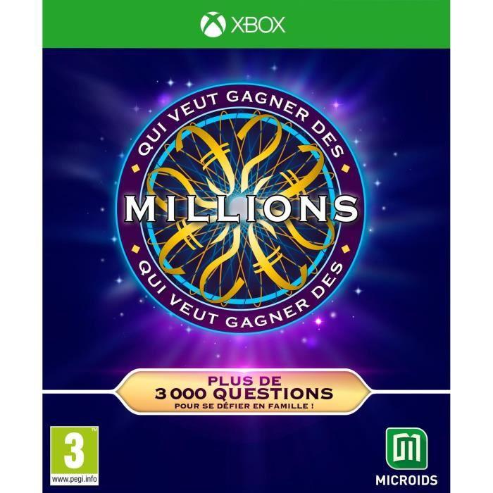 Qui veut gagner des millions Jeu Xbox One