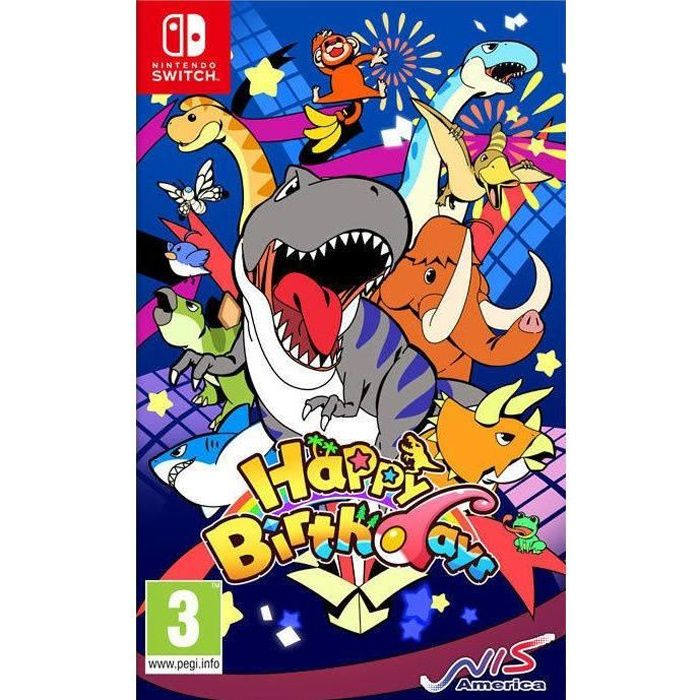 Happy Birthdays Jeu Switch