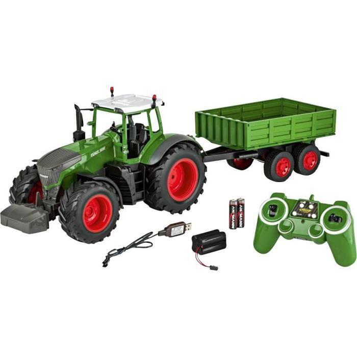 Véhicule agricole Carson Modellsport Fendt 1050 Vario mit Anhänger 500907314 1:16 Modèle réduit RC débutant 1 pc(s)