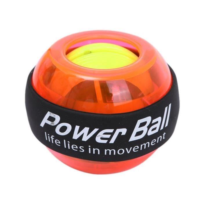 Entraîneur de balle de poignet Gyroscope renforcement Gyroscope puissance balle bras exercice Powerball intérieur Machine [37DD8B2]