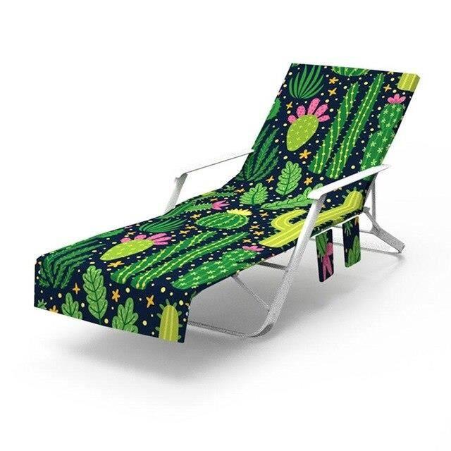 Nouveau imprimé microfibre soleil chaise longue plage couverture serviette vacances jardin pisc - Modèle: 1 75x215cm - KSYYMJA05904