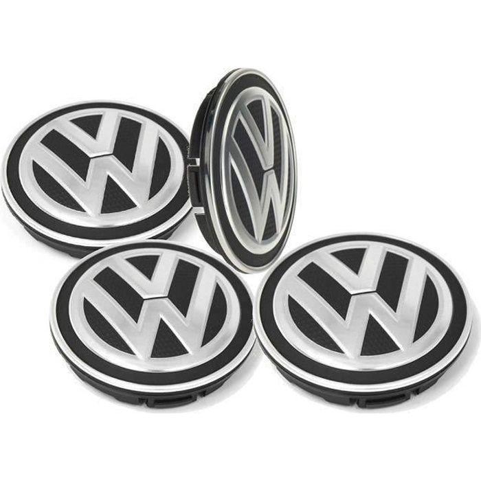 4 x 65MM VW Caches Moyeux Centre Roue Logo Emblème Pour VOLKSWAGEN GOLF LUPO PASSAT SCIROCCO