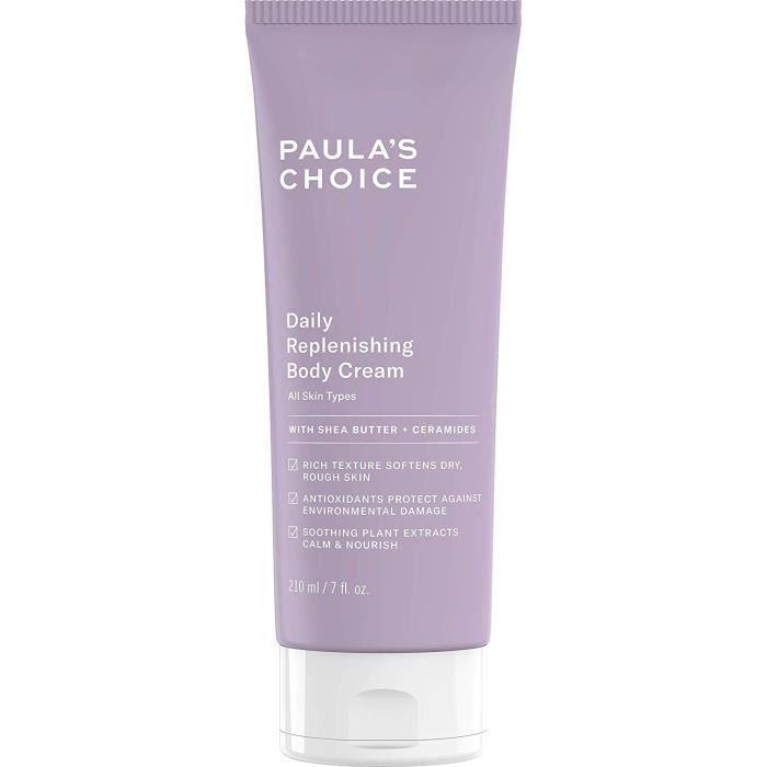 Paula's Choice Crème Corps Régénérante - Crème Hydratant Corps avec Beurre de Karité & Peptide - Crème Riche mais Légère 11666