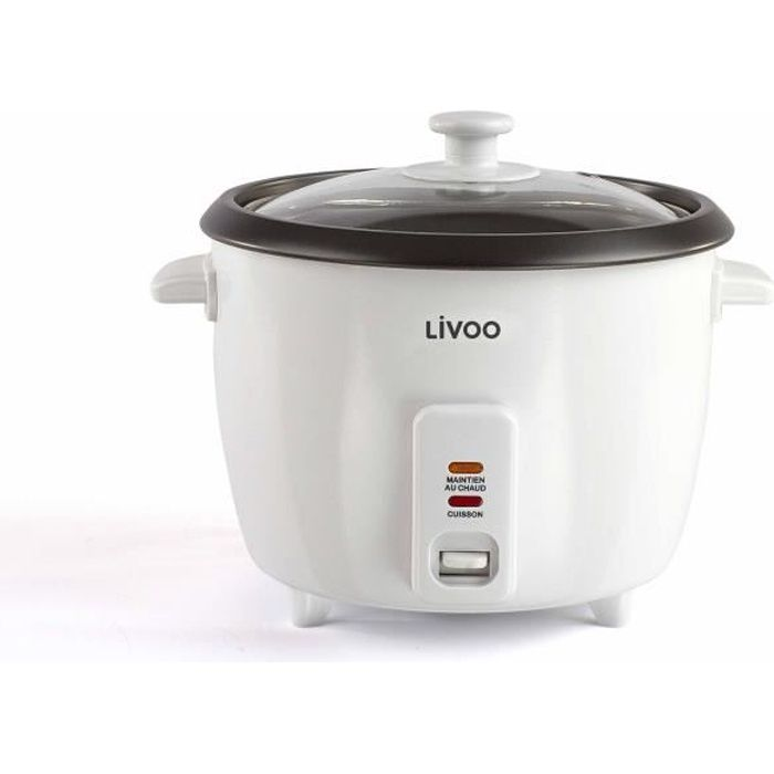 LIVOO DOC111 Cuiseur à riz - Blanc
