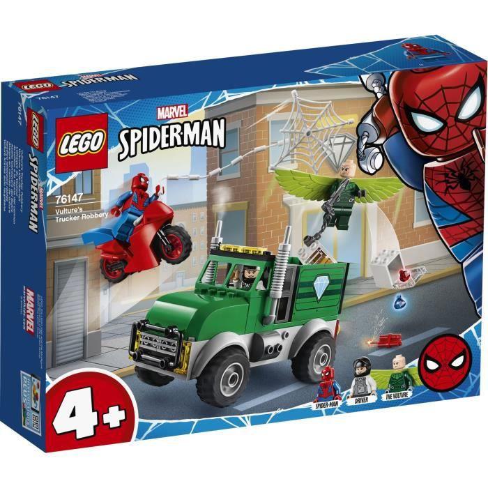 LEGO® Marvel Spider-Man™ 4+ - 76147 - L'attaque du Vautour