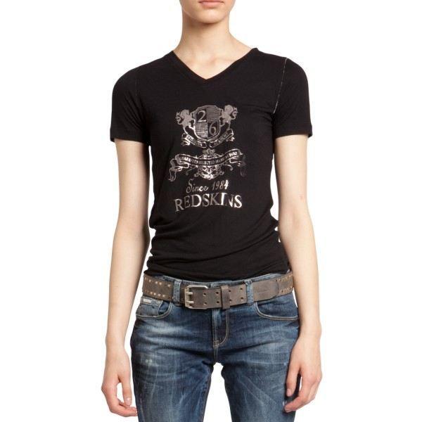 Redskins T-shirt Noir Presley Ab…