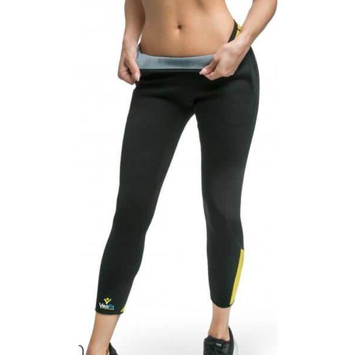 VeoFit Pantalon de Sudation: Taille S-XXXL - Legging minceur -Tonifie les fesses, cuisses et mollets pour une peau sans cellulite.