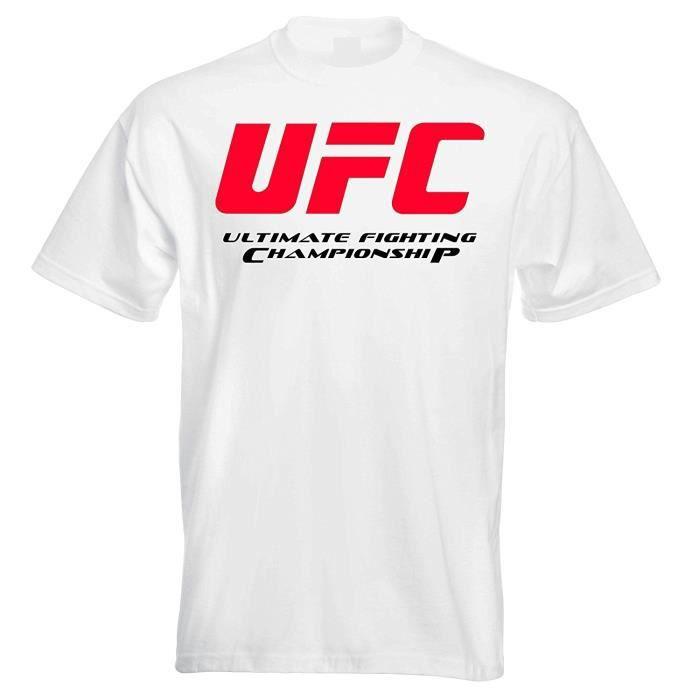 Homme Décontracté Personnalisé Ufc Ultimate Fighting Championship Homme Tee Shirt