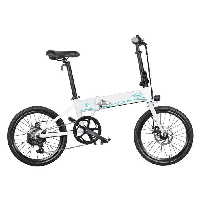 Vélo électrique 20 ' pliable-FIIDO D4s 10.4Ah 36V 250W 30km/h-blanc