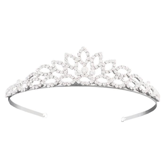 Élégant Hollow-out Leaf Hair Band Crown Coiffure de mariage pour la mariée BANDEAU - SERRE-TETE - HEADBAND - HAIRBAND