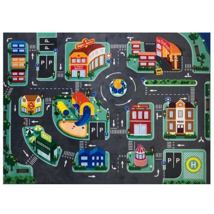 1 pièces Creative Crawl apprentissage LED drôle tapis enfant jeu trafic pour fille TAPIS D'EVEIL - AIRE D'EVEIL