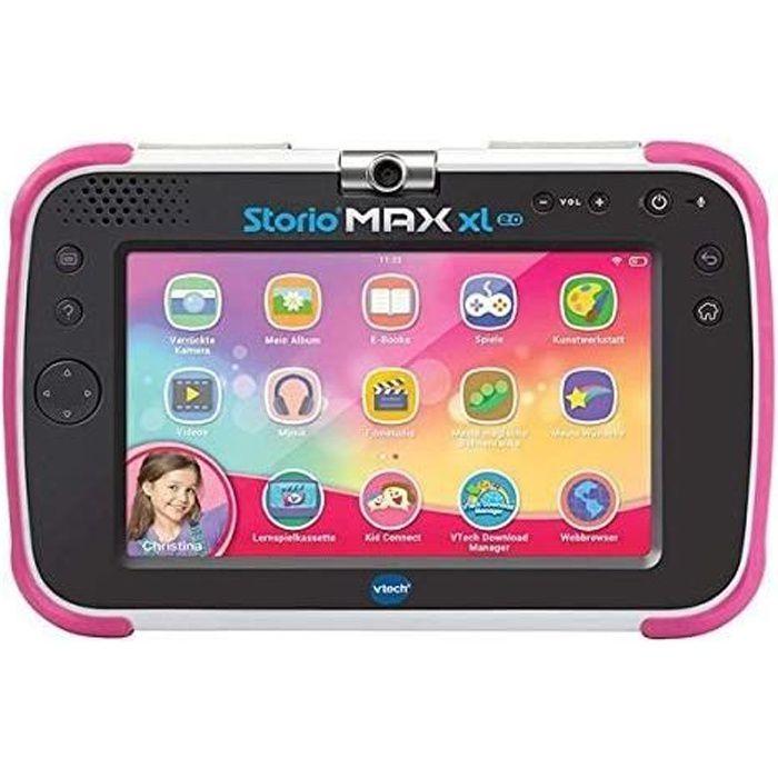 tablette éducative de 7 pouces pour Enfant Storio Max XL 2 rose noir
