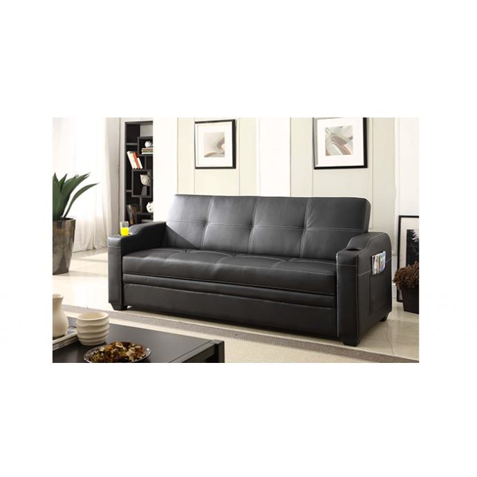 le lastovo canap 3 personnes convertible lit achat vente canap sofa divan pieds en. Black Bedroom Furniture Sets. Home Design Ideas