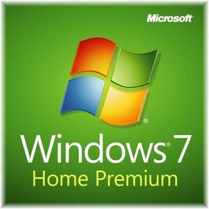 SKIN - STICKER Windows 7 Edition Familliale Premium - 32/64 bits