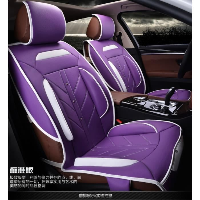 2x sports style le luxe housse de si ge de voiture automatique pour si ge conducteur avant. Black Bedroom Furniture Sets. Home Design Ideas