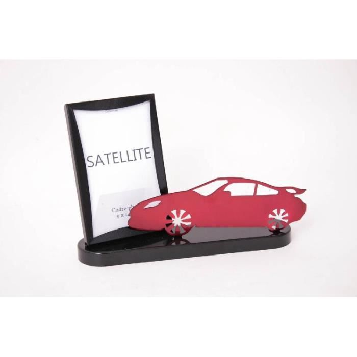 Cadre photo design voiture rouge m tal coll achat vente cadre phot - Cadre photo rouge design ...