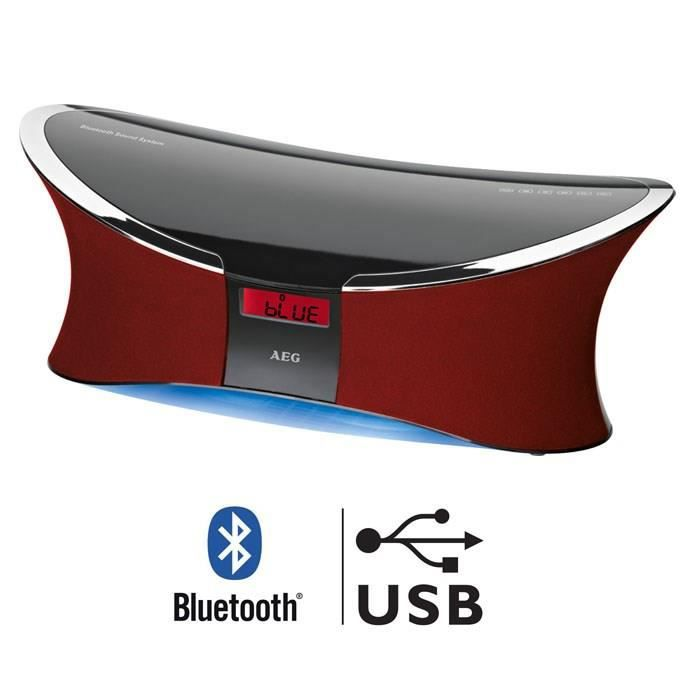 enceinte 2 1 bluetooth 200w usb mp3 rouge enceintes bluetooth prix pas cher soldes d t. Black Bedroom Furniture Sets. Home Design Ideas